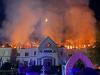 Tragédia! - Lángol a Borostyán Med Hotel Nyíradonyban! Fotók,videó!