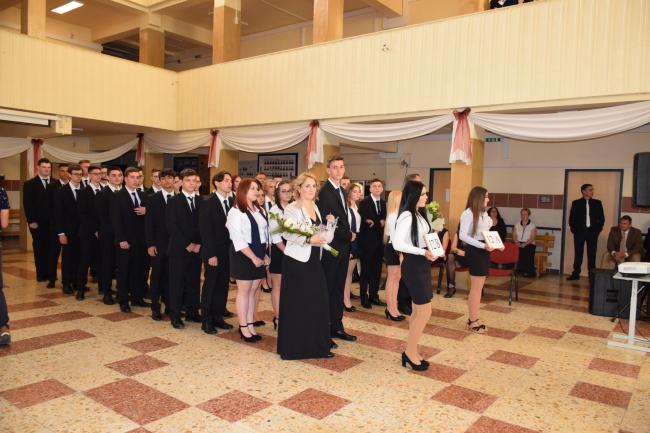 Szalagavató ünnepség a Wesselényiben!