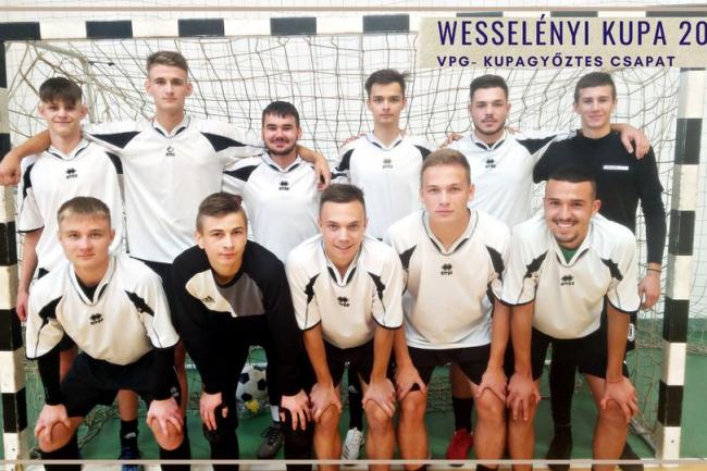 A Vasvári labdarúgó csapata első helyet szerzett