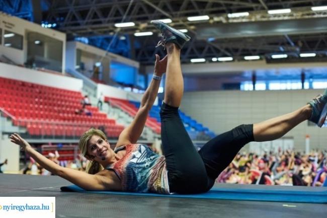 Mozdulj Nyíregyháza! - Béres Alexandra újra Nyíregyházán tart edzést